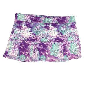 Reel Legends Keep It Cool Skort Skirt Shorts 3X